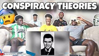 Top 10 Conspiracy Theories of All Time | REACTION!!