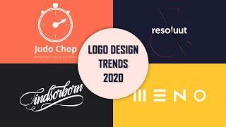 Top 10 Logo Design Trends In 2020 - Every Logo Designer Should Know | Logo Design Tips | Wpshopmart