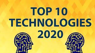 Top 10 Technologies to learn in 2020 | Trending Technologies in 2020 | Top future technologies 2020