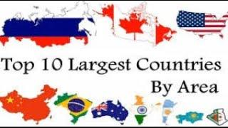 Top 10 Largest Country In the World (By Area)