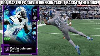 OOP MASTER FS CALVIN JOHNSON TAKES IT TO THE HOUSE! 95 FS CALVIN JOHNSON GAMEPLAY! | MADDEN 20