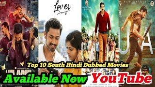 Top 10 New Release South Hindi Dubbed Movies Available Now Youtube |part-60| lover hindi dubbed |
