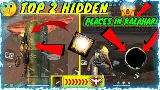 Top Secret Hidden Places In Free Fire In Kalahari Map // Top 2 Hidden Place in  // #FreeFire