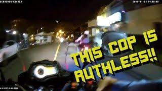 Costa Rica - Motorcycle Cop BEATS Biker w/ Baton! #7 - FNF
