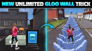 FREE FIRE NEW UNLIMITED GLOO WALL TRICK AFTER UPDATE | FREE FIRE NEW TRICKS - GARENA FREE FIRE