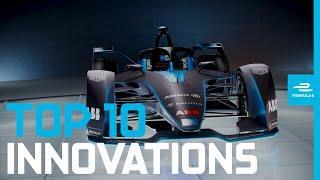 Top 10 Formula E Innovations!   ABB FIA Formula E Championship
