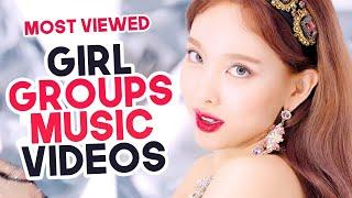 «TOP 50» MOST VIEWED KPOP GIRL GROUPS MUSIC VIDEOS OF ALL TIME
