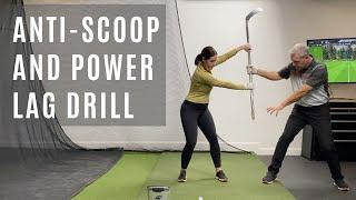 TURN YOUR WRIST FLIP AND HAND SCOOP INTO SUPER FORWARD SHAFT LEAN-LAG BALL COMPRESSION!