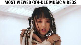 [TOP 10] Most Viewed (G)-IDLE Music Videos | April 2020