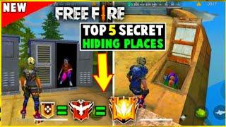 Top 5 Secret Place In Free Fire para SAMSUNG A3,A5,A6,A7,J2,J5,J7,S5,S6,S7,S9,A10,A20,A30,A50,A70 //