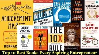 Top 10 Books for aspiring Entrepreneur ?