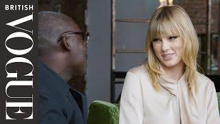 Taylor Swift Tries Out Her Best British Slang On Edward Enninful | British Vogue