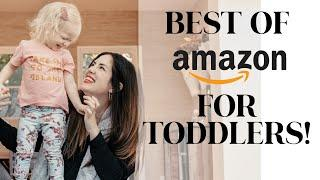 TOP 10 AMAZON MUST-HAVES FOR TWO-YEAR OLDS: MY AMAZON ESSENTIALS FOR PARENTING MADE EASIER!!