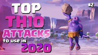 TOP TH10 Attack Strategies to Use in 2020 | 3 Star Town Hall 10 War Attacks | Clash of Clans #2