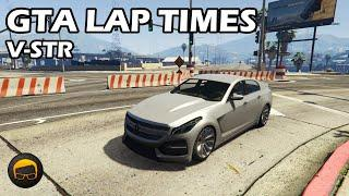 Fastest Sports Cars (V-STR) - GTA 5 Best Fully Upgraded Cars Lap Time Countdown