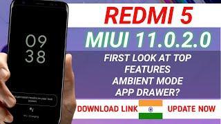 REDMI 5 MIUI 11.0.2.0  UPDATE | FULL CHANGE LOG | TOP FEATURES | REDMI 5 NEW UPDATE | MIUI 11.0.2.0