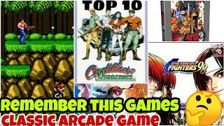 You played this game in childhood!|Top 10 Arcade CLASSIC Games||watch this video remember to game-HD