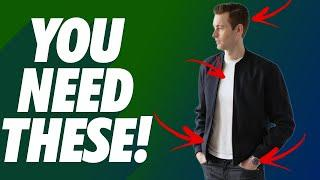 10 MUST HAVES ALL Guys Should Have In His Closet | Men's Fashion Essentials | Dorian & Ashley Weston
