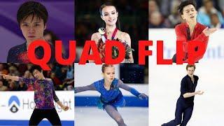 Top-10 Quad Flip (4F) in Figure Skating