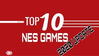Top 10 NES GAMES (Nintendo Entertainment System)
