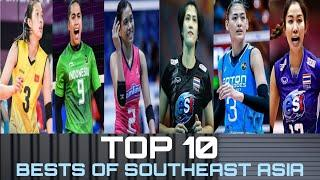Top 10 Best Women's Volleyball Players in Southeast Asia | Alyssa Valdez and Jaja grabbed a spot