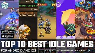 Top 10 Best Idle Games for Android and iOS | Under 100mb | Gamesoda
