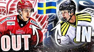 RED WINGS TOP PROSPECT REMOVED FROM WORLD JUNIORS TEAM & REPLACED W/ CANUCKS PROSPECT (NHL News)