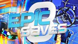 ROCKET LEAGUE EPIC SAVES 8 ! (BEST SAVES BY COMMUNITY & PROS)