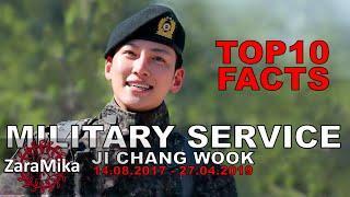 JI CHANG WOOK 지창욱 TOP 10 FACTS   MILITARY SERVICE