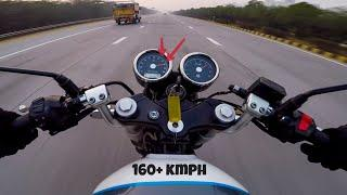 Royal Enfield Continental GT 650 TOP SPEED !!