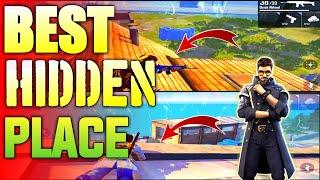 TOP 5 BEST HIDING PLACES IN BERMUDA MAP FREE FIRE [Ranked Match]