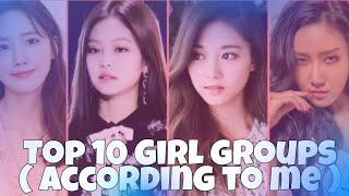 Top 10 girl group  ( According to me) | Run Kpop