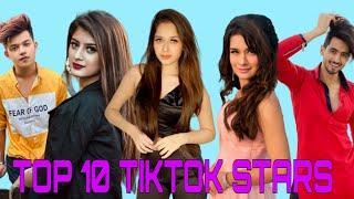 TOP 10 TIKTOK STARS IN INDIA ft. Avneet Kaur, Jannat zubair, Arishfa Khan and many