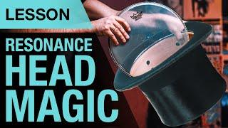 3 ways to tune your resonance head | Lesson