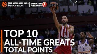 Top 10 All-Time Greats: Total Points
