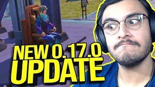 NEW UPDATE 0.17.0 AMUSEMENT PARK - ANNIVERSARY MODE | SEASON 12 | PUBG MOBILE HIGHLIGHTS | RAWKNEE