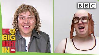Bad time for Little Britain's Andy to eat bat poop?! | The Big Night In - BBC
