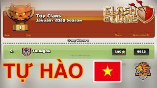 CLAN VIỆT NAM TOP 5 THẾ GIỚI GIẢI ĐẤU HỘI CHIẾN THÁNG 1 2020 Clash of clans LÀ AI ?! | Akari Gaming