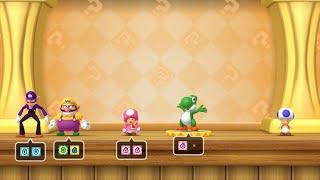 Mario Party 10 Mario Party #313 Toadette vs Wario vs Waluigi vs Yoshi Whimsical Waters Master