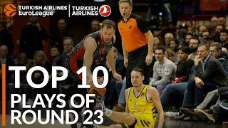 Turkish Airlines EuroLeague Regular Season Round 23 Top 10 Plays