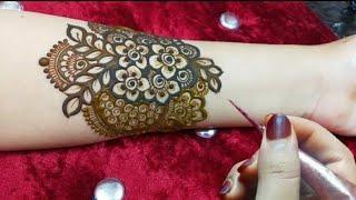 Wedding 2020 Special Full Hand Mehndi Design||Back Hand Dulhan Mehndi||Bharwa Mehdi Designs for Hand
