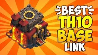 TH10 Base Link - War, Farming & Trophy Base!! Best Town hall 10 Anti 2 Star Base   Clash of Clans
