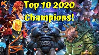 Top 10 2020 Champions! Best Released This Year! - Marvel Contest of Champions