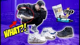 TOP 5 SNEAKER CLEANERS ! (WHICH ONE ACTUALLY WORKS?)