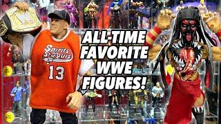 MY ALL-TIME FAVORITE WWE ACTION FIGURES! MATTEL WWE!