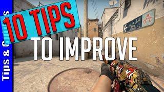 10 Tips to Improve at CS:GO