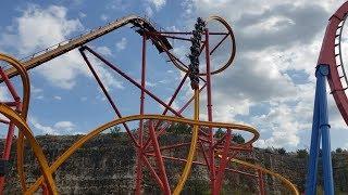 Six Flags Fiesta Texas  - Top 10 Coasters