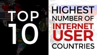 Top 10 Countries with Highest Number of Internet Users | TECH'S | Robert Vadivelu