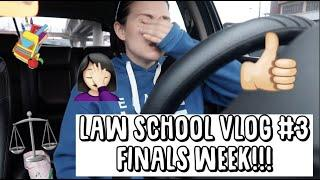 LAW SCHOOL VLOG #3 | Reviewing for Finals Week part 2 | Keep pushing!!!