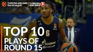 Turkish Airlines EuroLeague Regular Season Round 15 Top 10 Plays